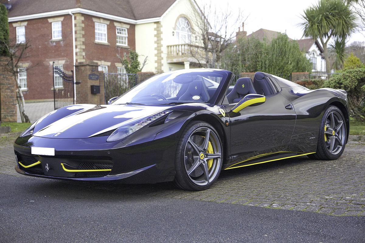 2013 Ferrari 458 570ps Spider Convertible 2d Auto Seq Best Cars